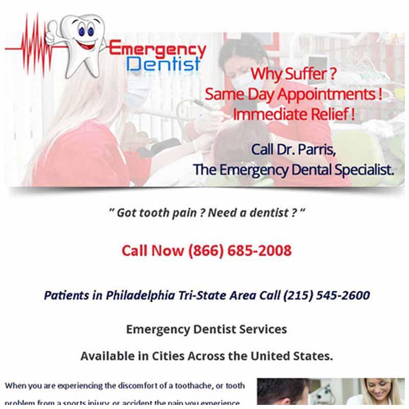 Emergency Dentist | GET FOUND ONLINE